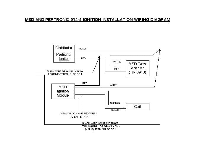 1461181061 4356 porsche 911 928 944 msd ignition system installation 1965 1989 pertronix ignitor wiring diagram at gsmx.co