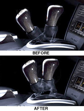 Short Shift Kit, Porsche Tequipment, each, Boxster/Boxster S (1997-2004)  Brand: Genuine Porsche