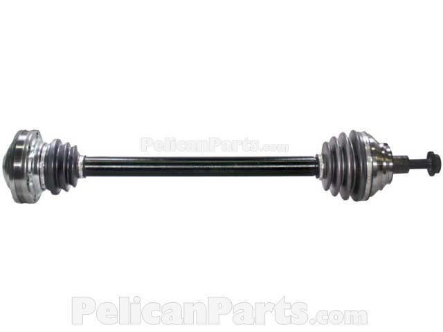 audi a3 a3 quattro 2006 2013 axles bearings differential rh pelicanparts com Audi A3 Manual PDF Audi A3 V6
