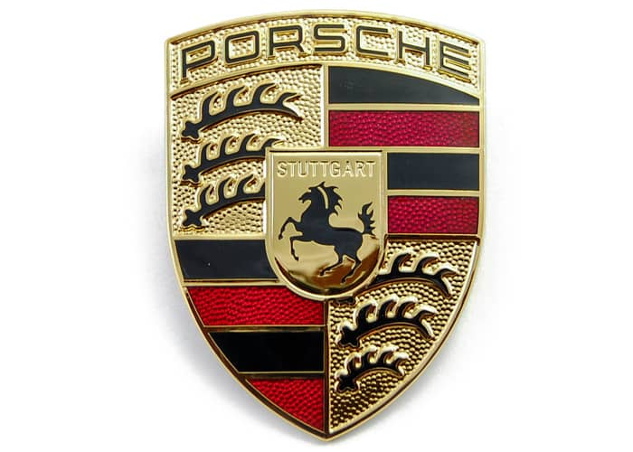 Genuine Porsche Hood Crest Pelicanparts Com