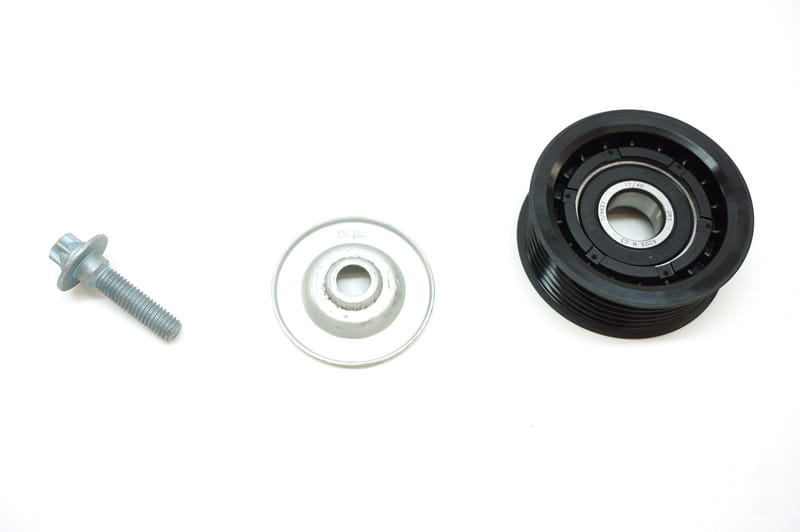 For Mercedes C63 AMG LEFT Engine Water Pump Pulley GENUINE 156 202 08 19