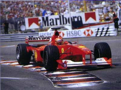 Michael Schumacher/Formula 1/Ferrari Grand Prix/Monaco 2000/Monte Carlo - PelicanParts.com